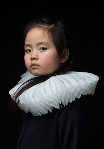 Girl with Baroque Collar